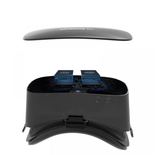 """Ochelari realitate virtuala VR Shinecon AIO5, 6K, 5.5"""", 2GB RAM, 16GB ROM, 1.8GHz QuadCore, Giroscop pe 9 axe, Dual WiFi, 4000mAh, Negru 2"""