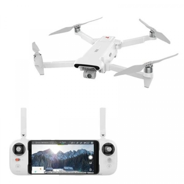 Drona Xiaomi FIMI X8 SE 2020, Camera 4K, 12MP Sony CMOS, Gimbal pe 3 axe, GPS, 35 min timp zbor, Slot memorie, 4500mAh, Alb imagine dualstore.ro 2021