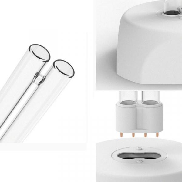 Lampa UV Xiaomi Huayi UV Ozone Sterilization Lamp cu 2 tuburi pentru sterilizare 360° si ozon de 38W Alb 1