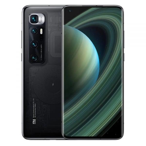 Telefon mobil Xiaomi Mi 10 Ultra Transparent, 5G, AMOLED 6.67 curbat, 8GB RAM, 256GB ROM, Snapdragon 865, 4500mAh, Dual SIM, ROM global imagine