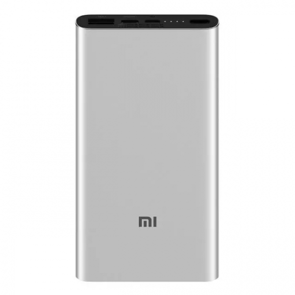 Acumulator extern Xiaomi Mi Power Bank 3 silver imagine