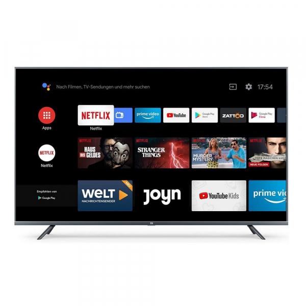 """Smart TV Xiaomi Mi TV 4S 55"""", 4K, Netflix, Android 9.0, 2GB RAM, 8GB ROM, Wifi, Bluetooth, EU 0"""