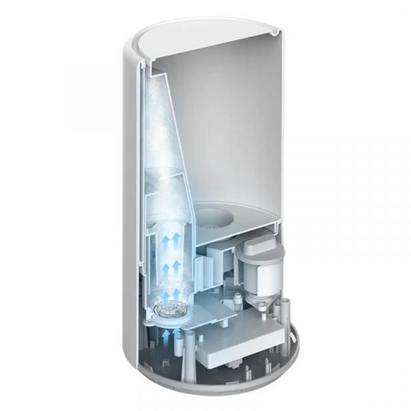 Umidificator de aer cu sterilizator UV-C Xiaomi Mi Smart Antibacterial Humidifier, 4.5L, 300ml/h, Wi-Fi, Alb 5