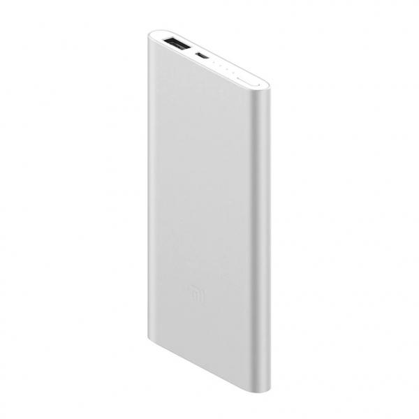 Acumulator extern Xiaomi Mi Power Bank 2, 5000mAh, Micro-USB, USB-A, Incarcare rapida, Incarcare la putere mica 1
