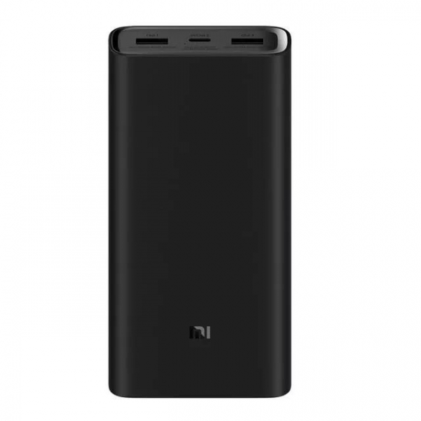Acumulator extern Xiaomi Mi Power Bank 3 Pro, 20000mAh, USB tip C, Dual USB, Incarcare rapida 45W 0