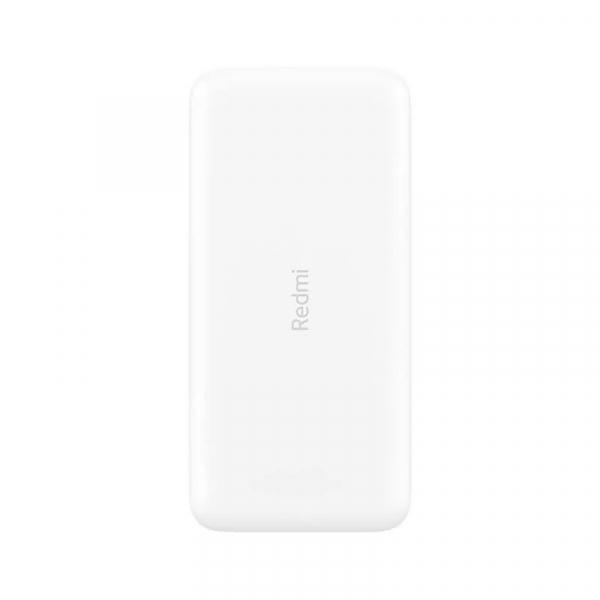 Acumulator extern Xiaomi Redmi Power Bank, 20000mAh, Micro-USB, USB Type-C, Dual USB, Incarcare rapida, Incarcare la putere mica 1
