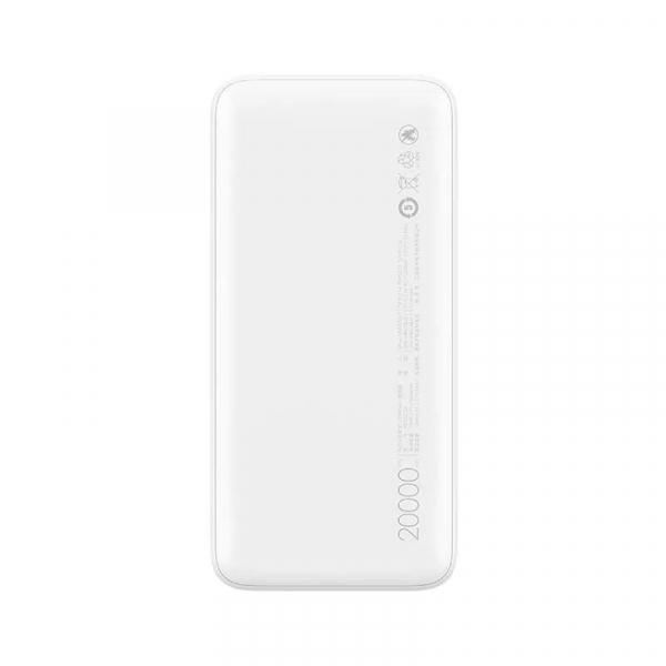 Acumulator extern Xiaomi Redmi Power Bank, 20000mAh, Micro-USB, USB Type-C, Dual USB, Incarcare rapida, Incarcare la putere mica 2