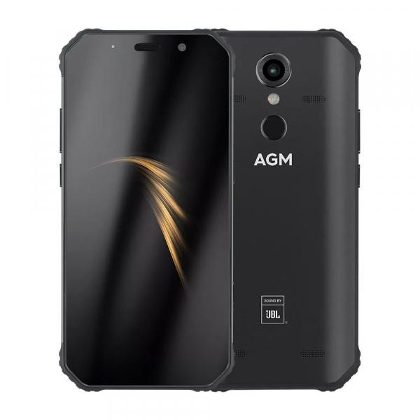 Telefon mobil AGM A9, IPS 5.99inch, 4GB RAM, 64GB ROM, Android 8.1, Snapdragon 450 Octa Core, Sunet Quad JBL, 5400mAh, Dual SIM 0