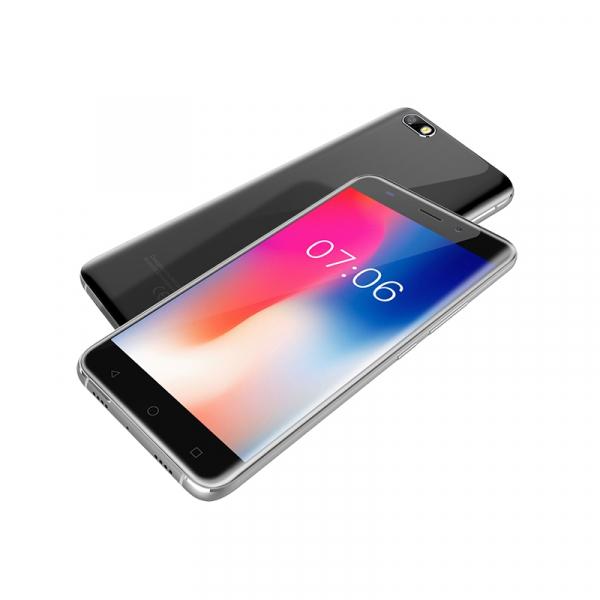 Telefon mobil AllCall Madrid 3G, Ecran Curbat 5.5 inch, Android 7, QuadCore, 1GB RAM 8GB ROM, OTG, 8 MP, Dual Sim 6