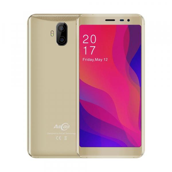 Telefon mobil AllCall Rio X, Camera dubla, Dual SIM, Android 8.1, 1 GB RAM, 8 GB ROM 6
