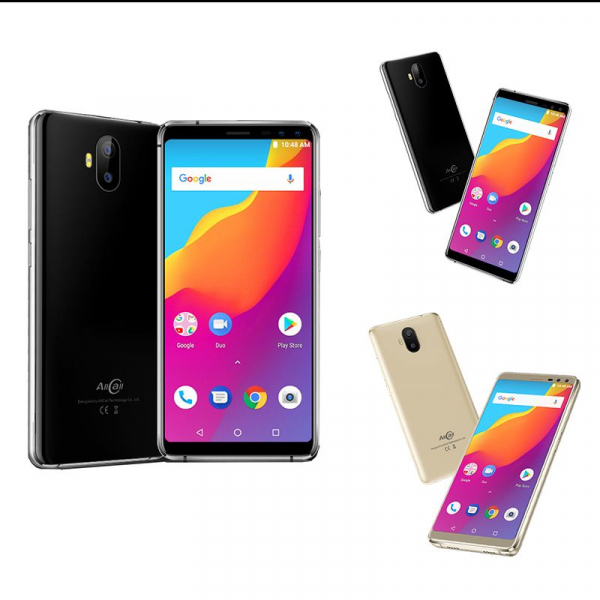 Telefon mobil Allcall S1 3G, Android 8.1, 2GB RAM 16GB ROM, Quad Core, 5.5 inch, 4 Camere, DualSim 0