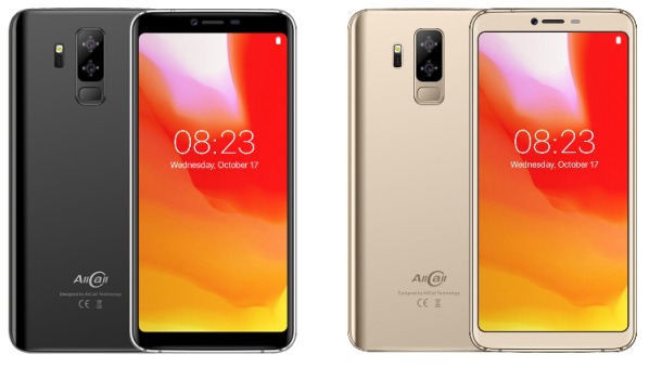 Telefon mobil Allcall S5500, 3G, IPS 5.99inch, Android 8.1, MTK6580M QuadCore, 2GB RAM, 16GB ROM, 5500mAh, Dual SIM 0