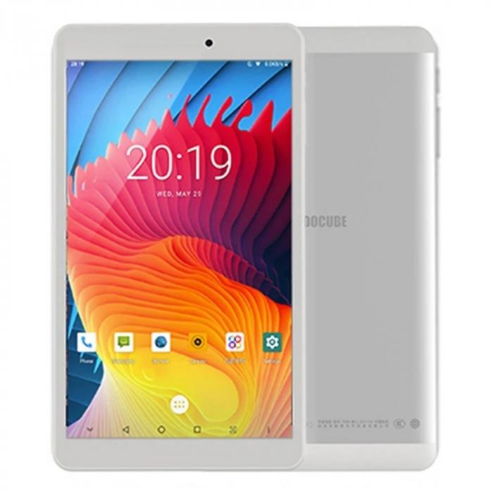 Tableta Alldocube iPlay 8 Pro Alb, 3G, IPS 8.0 , Android 9, 2GB RAM, 32GB ROM, MediaTek MT8321 QuadCore, GPS, 5500mAh, Single SIM imagine dualstore.ro 2021