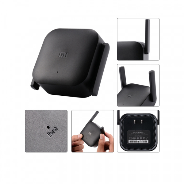 Amplificator Semnal WiFI Xiaomi Pro, viteza 300Mbs, frecventa  2.4G,  cu doua antene - DualStore 1