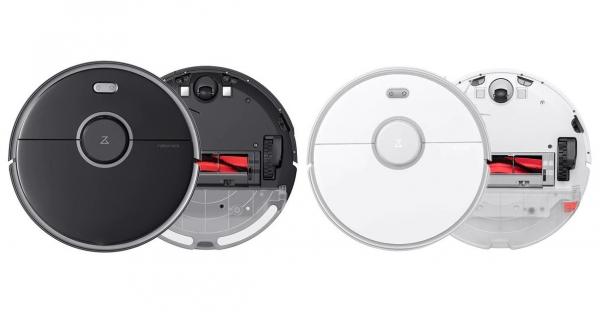 Aspirator Inteligent Xiaomi Roborock S5 Max, Control Aplicatie, Rezervor apa, Mop, Zone dedicate No-Mop, 5200mAh 0