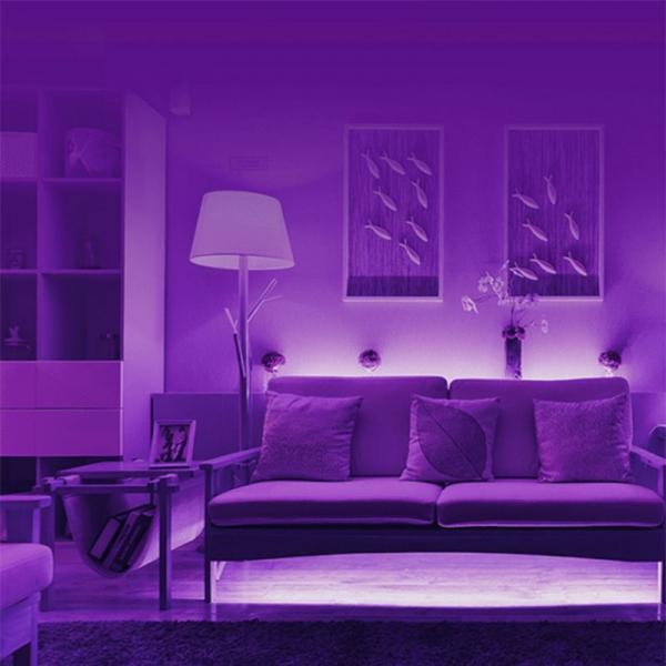 Banda LED Xiaomi Yeelight Smart Home, Control prin WiFi, Waterproof IP66, Lumina ajustabila, RGB, 16 milioane de culori 6