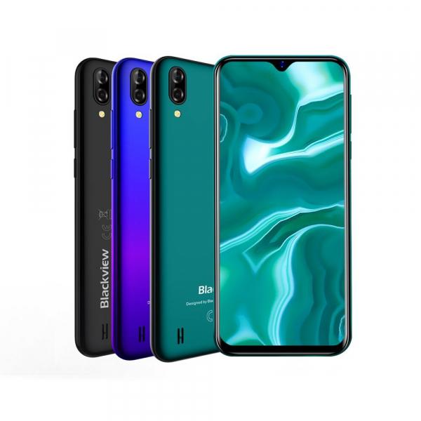 Telefon mobil Blackview A60, IPS 6.1inch, 1GB RAM, 16GB ROM, Android 8.1, MediaTek MT6580A, ARM Mali-400 MP2, 4080mAh,QuadCore, Dual SIM 0