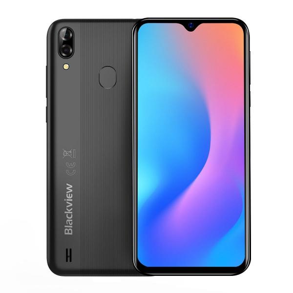 Telefon mobil Blackview A60 Pro, MTK6761 Quad Core, Android 9.0, 4080mAh, 3GB RAM, 16GB ROM, 6.09 inch Waterdrop Screen, Face ID, 4G imagine