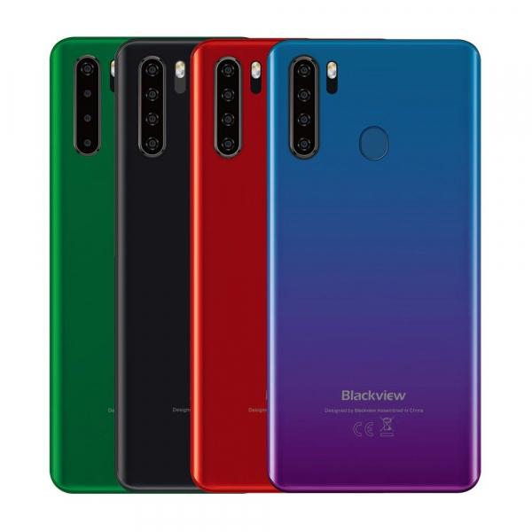 Telefon mobil Blackview A80 Pro, IPS 6.49inch, 4GB RAM, 64GB ROM, Android 9.0, Helio P25, ARM Mali T-880 MP2, 4680mAh, Dual SIM 1