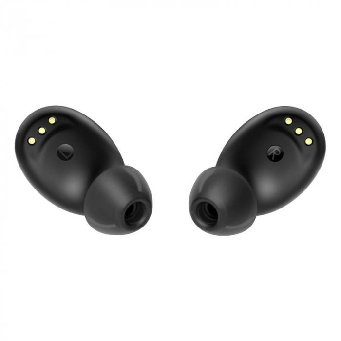 Casti wireless in-ear Blackview AirBuds 2 TWS Negru cu cutie de incarcare si transport [2]