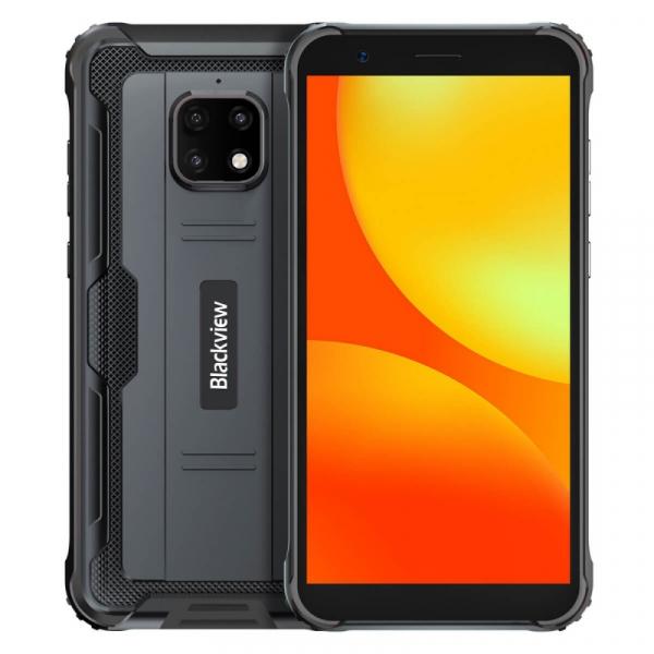 Telefon mobil Blackview BV4900 Pro Negru, 4G, IPS 5.7 , 4GB RAM, 64GB ROM, Android 10, Helio P22 OctaCore, NFC, 5580mAh, Dual SIM