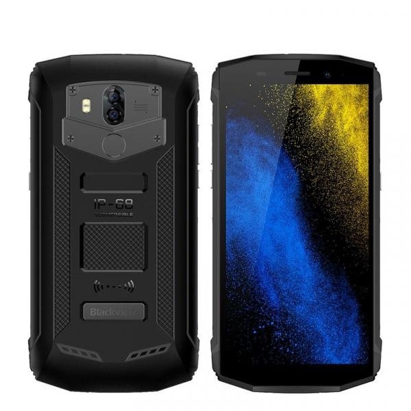 "Telefon mobil Blackview BV5800 Pro, 4G, 5.5"" HD+, MT6739 QuadCore, 5580mAh, Incarcare wireless, 2GB RAM, 16GB ROM, NFC, Dual SIM 1"