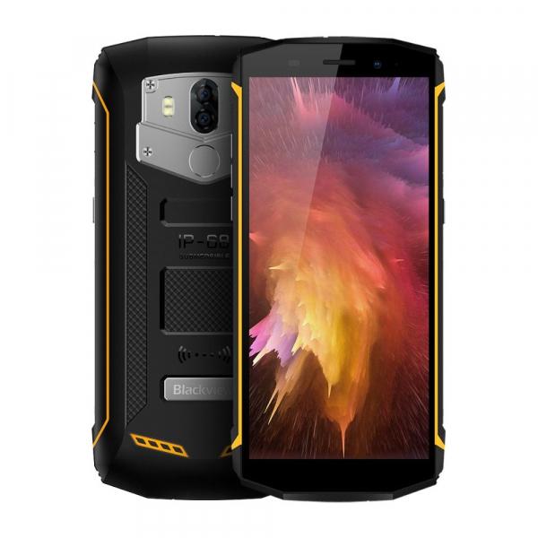 "Telefon mobil Blackview BV5800 Pro, 4G, 5.5"" HD+, MT6739 QuadCore, 5580mAh, Incarcare wireless, 2GB RAM, 16GB ROM, NFC, Dual SIM 2"