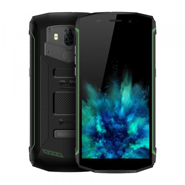 Telefon mobil Blackview BV5800, Waterproof IP68, 5.5 HD+, 2GB RAM, 16GB ROM, MTK6357 QuadCore, Android 8.1, 5580mAh, NFC, Dual SIM imagine