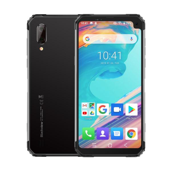 Telefon mobil Blackview BV6100, IPS 6.88inch, 3GB RAM, 16GB ROM, Android 9.0, Helio A22, PowerVR GE8300, Quad Core, 5580mAh, Dual Sim 1