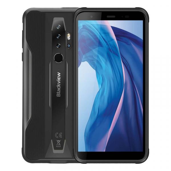 Telefon mobil Blackview BV6300, 4G, IPS 5.7 , 3GB RAM, 32GB ROM, Android 10, Helio A25 OctaCore, IP69K, 4380mAh, Dual SIM, Negru imagine dualstore.ro 2021