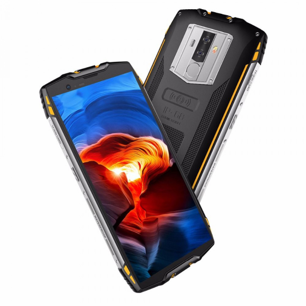 Telefon mobil Blackview BV6800 Pro, IPS 5.7inch, Waterproof IP68, MT6750T OctaCore, 4GB RAM, 64GB ROM, 6580mAh, Incarcare wireless, NFC 4