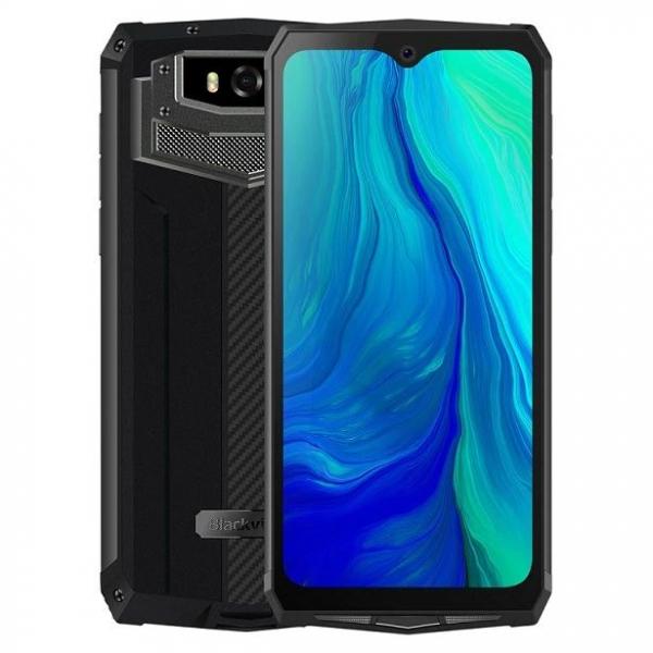 Telefon mobil Blackview BV9100, 4GB RAM, 64GB ROM, Android 9.0, MediaTek Helio P35, PowerVR GE8320, Octa-Core, 6.3 inch, 13000 mAh, Dual Sim imagine