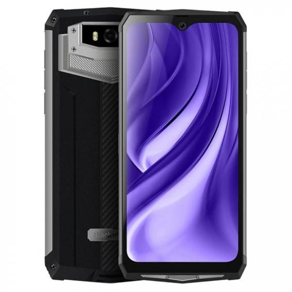 Telefon mobil Blackview BV9100, 4GB RAM, 64GB ROM, Android 9.0, MediaTek Helio P35, PowerVR GE8320, Octa-Core, 6.3 inch, 13000 mAh, Dual Sim 5