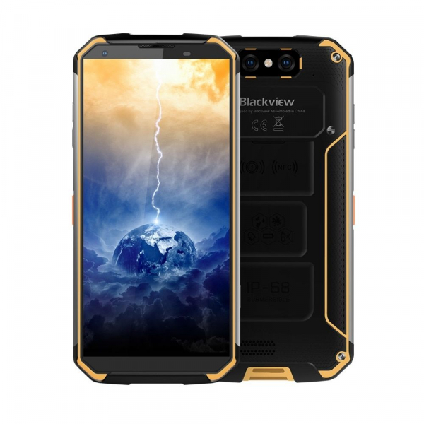 Telefon mobil Blackview BV9500, IPS 5.7inch, Android 8.1, 4GB RAM, 64GB ROM, MT6763T OctaCore, 10000mAh, Waterproof imagine