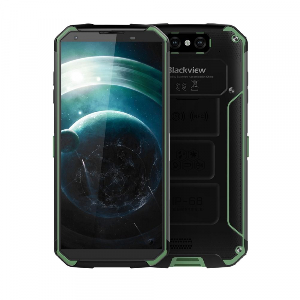 Telefon mobil Blackview BV9500, IPS 5.7inch, Android 8.1, 4GB RAM, 64GB ROM, MT6763T OctaCore, 10000mAh, Rezistent la apa 3