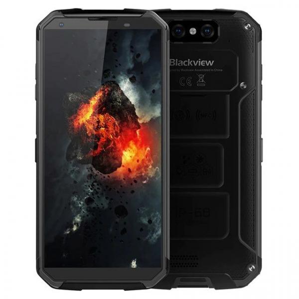 Telefon mobil Blackview BV9500 Plus, Android 9.0, 4GB RAM, 64GB ROM, 5.7inch,MediaTek Helio-P70OctaCore, 10000mAh, Waterproof, Dual SIM 1
