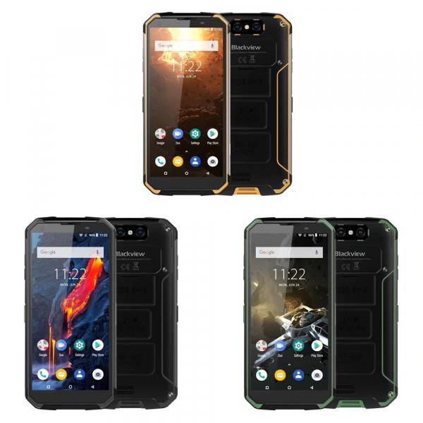 Telefon mobil Blackview BV9500 Plus, Android 9.0, 4GB RAM, 64GB ROM, 5.7inch,MediaTek Helio-P70OctaCore, 10000mAh, Waterproof, Dual SIM 0