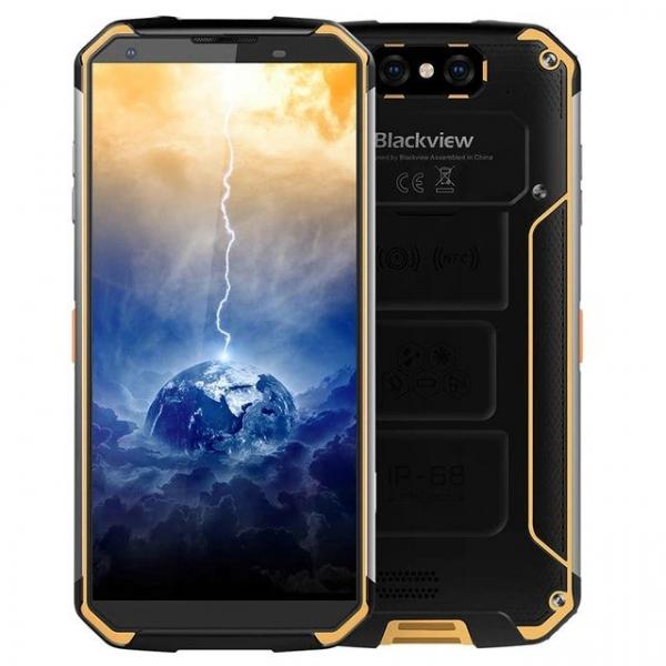 Telefon mobil Blackview BV9500 Plus, Android 9.0, 4GB RAM, 64GB ROM, 5.7inch, MediaTek Helio-P70 OctaCore, 10000mAh, Waterproof, Dual SIM imagine