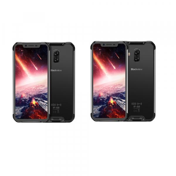 Telefon mobil Blackview BV9600 Pro (2019), Android 9.0, 6GB RAM, 128GB ROM, 6.21 Super AMOLED, Helio P70, Octa Core, NFC, 5580mAh imagine