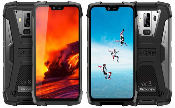 Telefon mobil Blackview BV9700 Pro, IPS 5.84inch, 6GB RAM, 128GB ROM, Android 9.0, Helio-P70 OctaCore, 4380mAh, Dual SIM 0