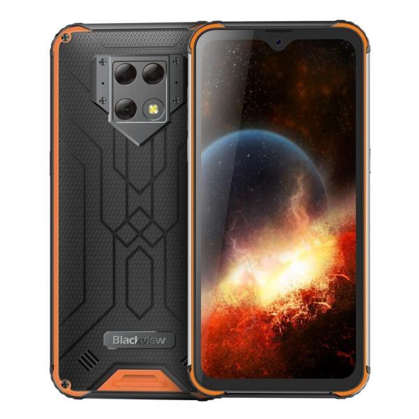 Telefon mobil Blackview BV9800, IPS 6.3inch, 6GB RAM, 128GB ROM, Android 9.0, Helio P70, Mali-G72 MP3, Dual SIM, Octa Core, 6580mAh 6