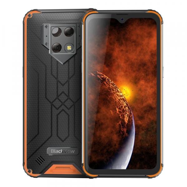 Telefon mobil Blackview BV9800 Pro, Android 9.0, 6GB RAM, 128GB ROM, 6.3IPS, Helio P70, Octa Core, NFC, Camera termica, 6580mAh 6