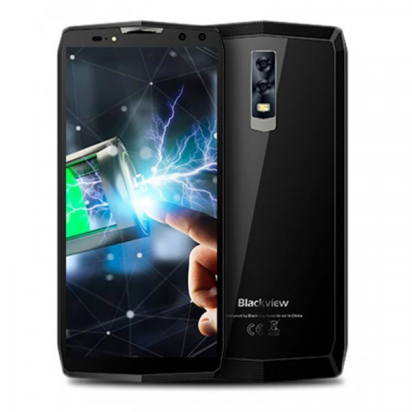 Telefon mobil Blackview P10000 Pro 4G, Android 7.1, 6.0 inch, 4GB RAM 64GB ROM, Helio P23 Octa Core, Face ID, 4 Camere, DualSim 1