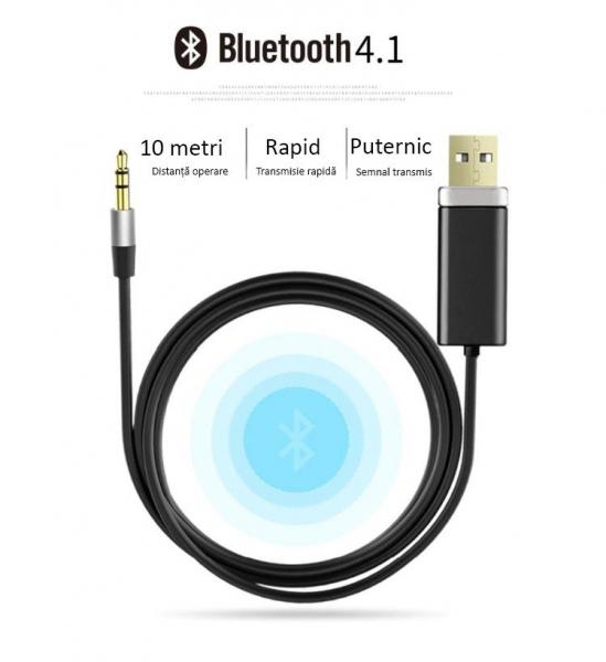 Bluedio BL Bluetooth Cablu Adaptor pentru muzica imagine