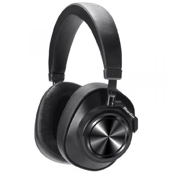 Casti Bluedio T7+, HiFi, Bluetooth 5.0, 115 dB, Difuzoare de 57mm, Card memorie, Control vocal, 4 microfoane, Izolare zgomot reglabila [1]