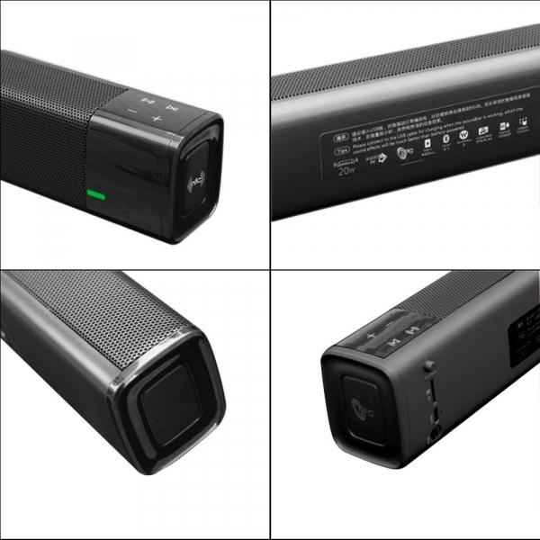 Boxa portabila wireless JKR KR1000 Bluetooth, 20W,  NFC, AUX, USB, TF, compatibila iOS si Android 1