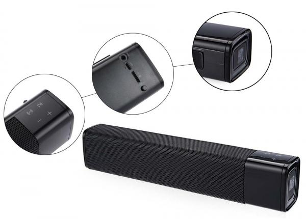 Boxa portabila wireless JKR KR1000 Bluetooth, 20W,  NFC, AUX, USB, TF, compatibila iOS si Android 5