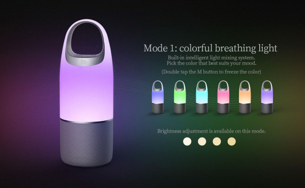 Boxa Portabila Wireless Nillkin Cozy MC3 Pro 3 in 1, Lampa Led multicolora, PowerBank, Bluetooth, Aux, Microfon imagine dualstore.ro 2021