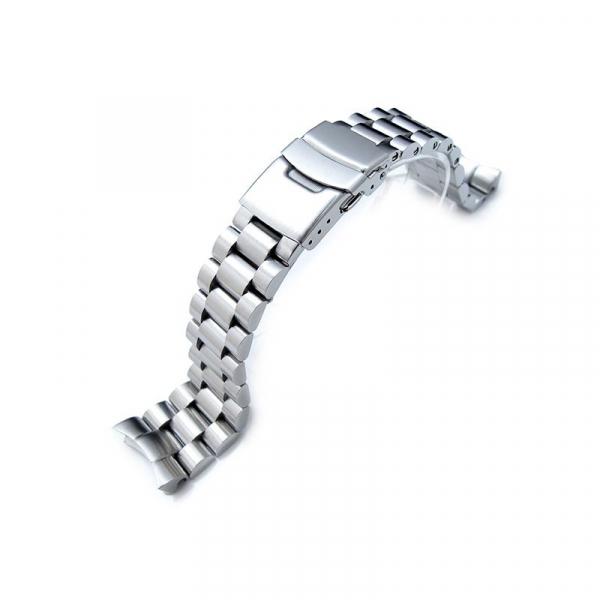 Bratara de schimb din metal cu zale mari pentru smartwatch Xiaomi AmazFit 1, AmazFit Stratos, 22mm 2