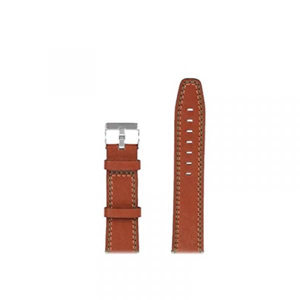 Bratara de schimb din piele pentru smartwatch Xiaomi AmazFit 1, AmazFit 2, 22mm 6